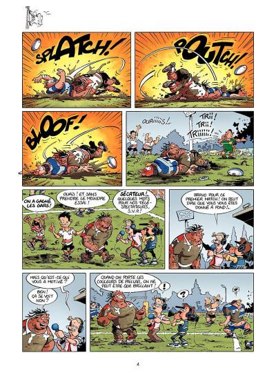 Page 3 les rugbymen tome 7 - le résultat, on s'en fout ! il faut gagner !
