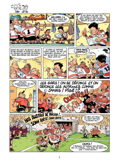 Page 4 les rugbymen tome 7 - le résultat, on s'en fout ! il faut gagner !