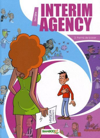 Couverture interim agency tome 2