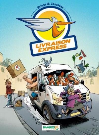 image de livraison express tome 1