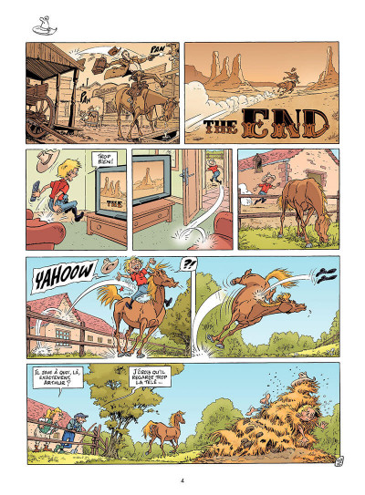 Page 3 triple galop tome 4