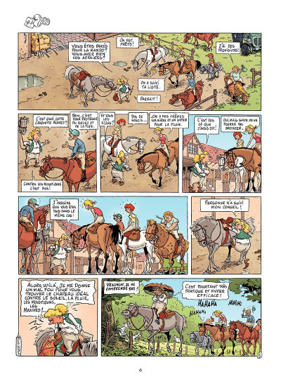 Page 5 triple galop tome 4