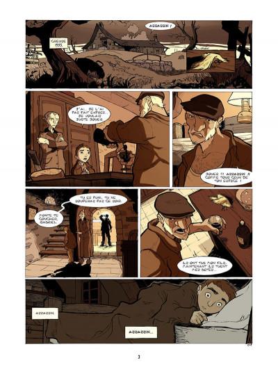 Page 4 l'enfant maudit tome 1 - les tondues