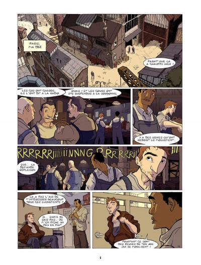 Page 5 l'enfant maudit tome 1 - les tondues