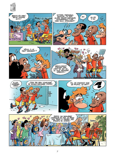 Page 6 les footmaniacs tome 7