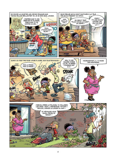 Page 3 basket dunk tome 6