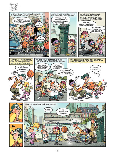 Page 5 basket dunk tome 6