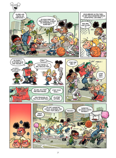 Page 6 basket dunk tome 6
