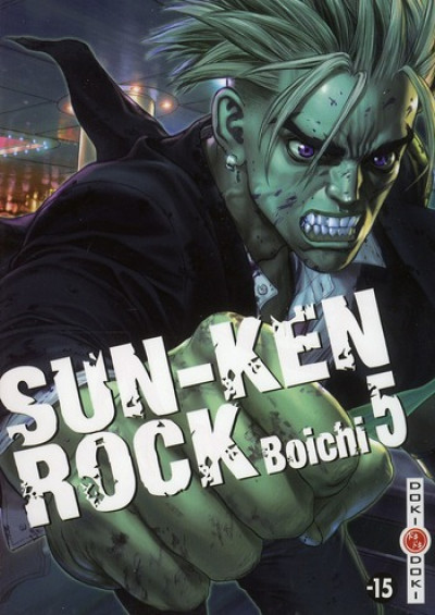 Couverture sun-ken rock tome 5
