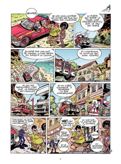 Page 6 les pompiers tome 9 - feu à volonté