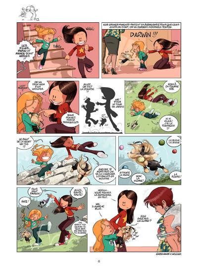 Page 5 les sisters tome 4 - c'est nikol crème !