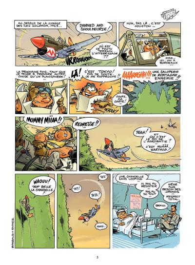 Page 4 les dézingueurs tome 1 - escadrille casse-coucous