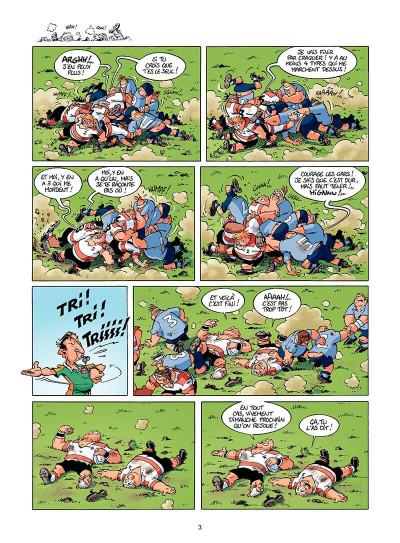 Page 2 les rugbymen tome 8 - en face, ils ont 15 bras et 15 jambes, comme nous !