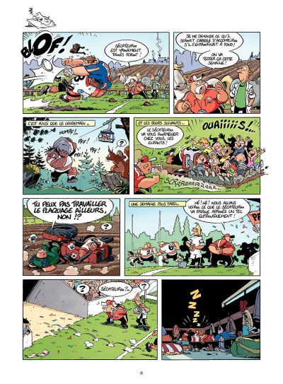 Page 5 les rugbymen tome 8 - en face, ils ont 15 bras et 15 jambes, comme nous !