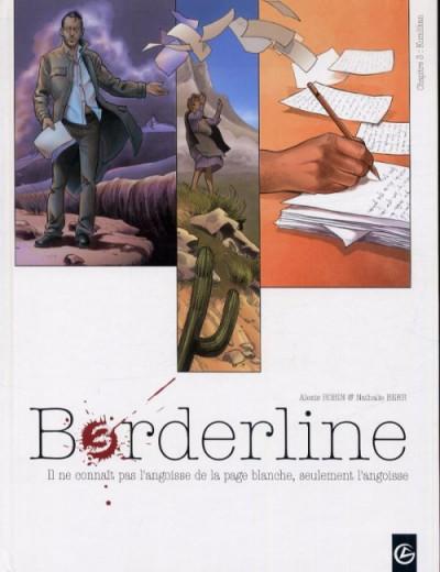 Couverture borderline tome 3 - kumlikan