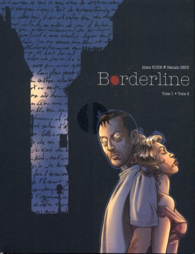 Couverture borderline - écrin tome 1 et tome 2