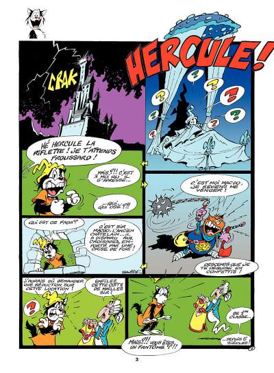 Page 2 hercule tome 3 - sparadraps en folie!