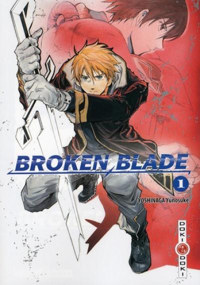 Couverture broken blade tome 1