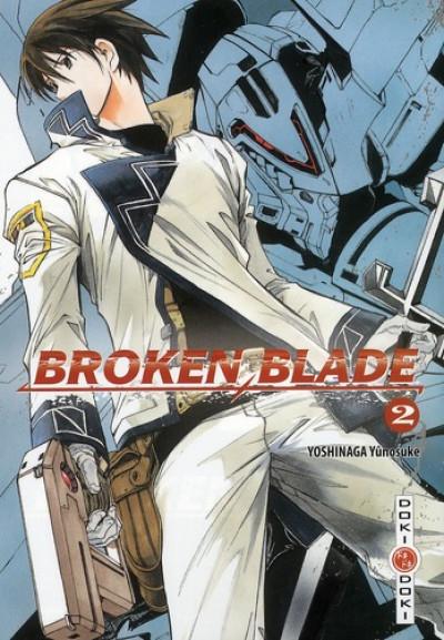 Couverture broken blade tome 2