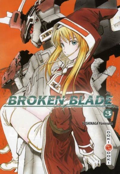 Couverture broken blade tome 3