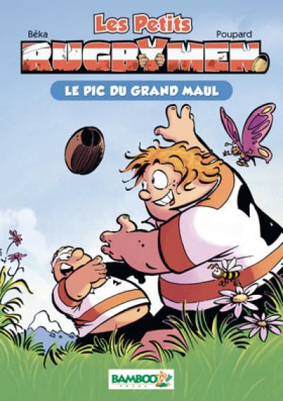 Couverture Les petits rugbymen - roman poche - tome 1