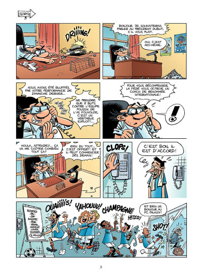 Page 2 les footmaniacs tome 8