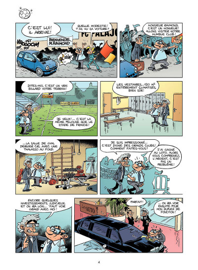 Page 3 les footmaniacs tome 8