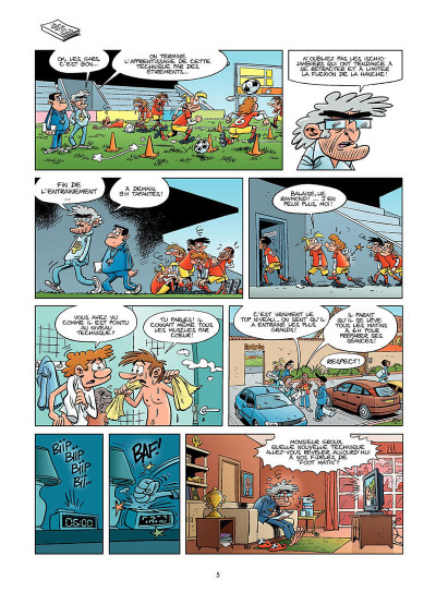 Page 4 les footmaniacs tome 8