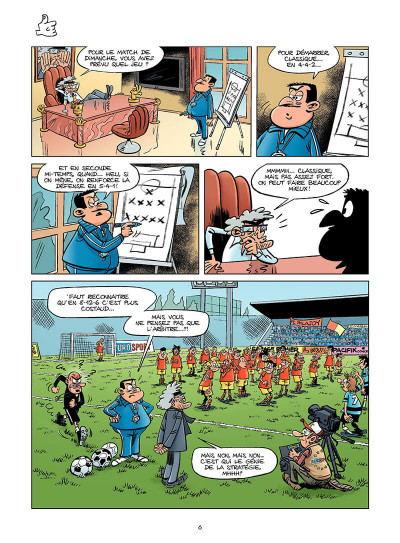 Page 5 les footmaniacs tome 8