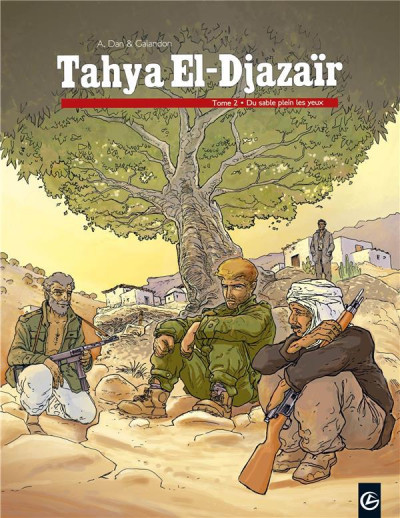image de tahya el-djazaïr tome 2 - du sable dans les yeux