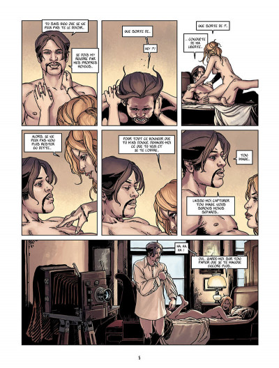 Page 4 wounded tome 1 - l'ombre du photographe