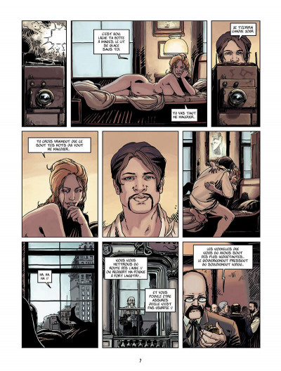 Page 6 wounded tome 1 - l'ombre du photographe