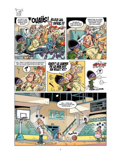 Page 6 basket dunk tome 7