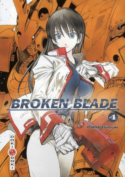 Couverture broken blade tome 4