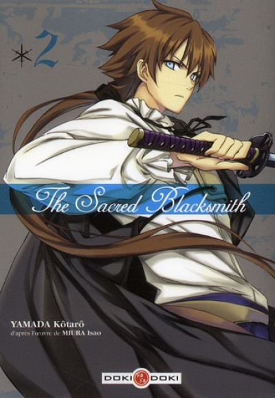 Couverture the sacred blacksmith tome 2