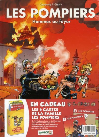 Couverture les pompiers tome 2 - jeu des familles bamboo