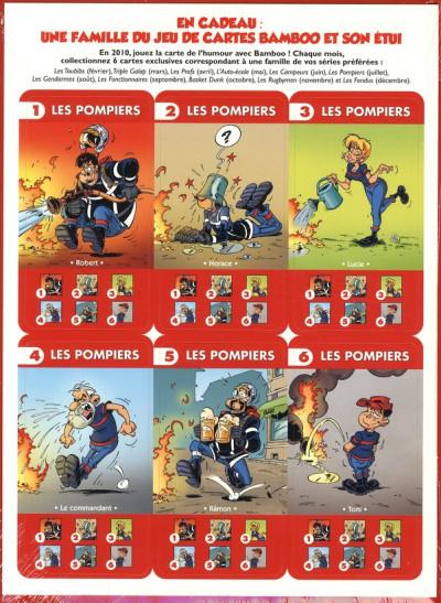 Dos les pompiers tome 4 - jeu des familles bamboo