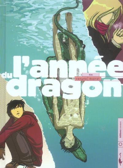 Couverture l'année du dragon tome 3 - kim