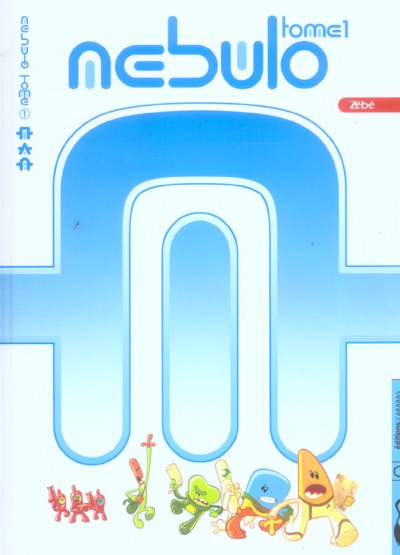 Couverture nebulo tome 1 - capsis