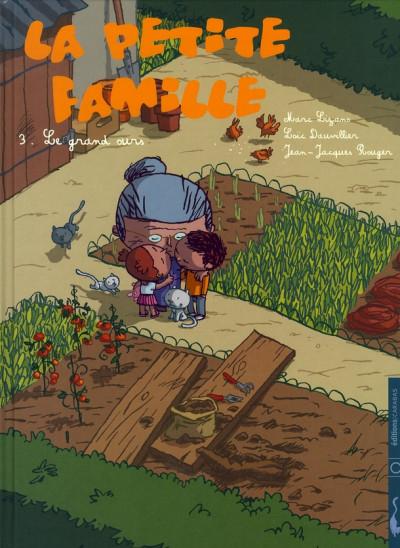 Couverture la petite famille tome 3 - le grand ours