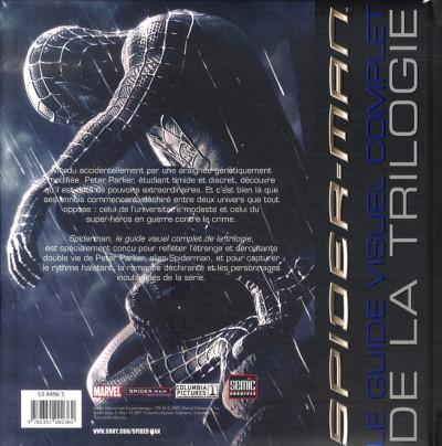 Dos spider-man ; le guide visuel complet de la trilogie