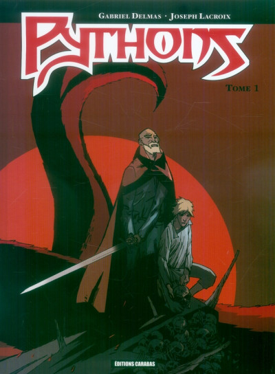 Couverture pythons tome 1