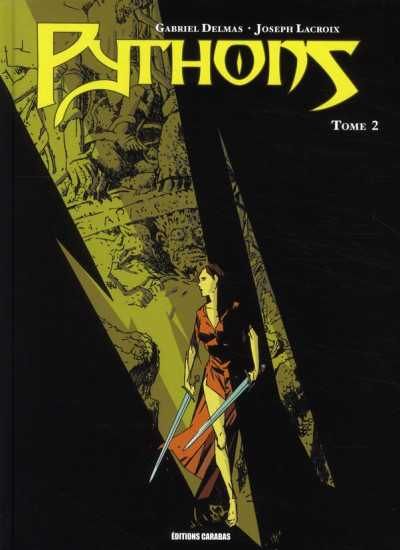 Couverture pythons tome 2