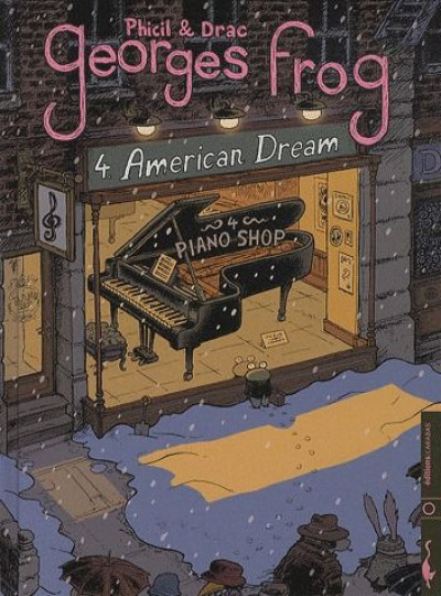 Couverture georges frog tome 4 - American Dream