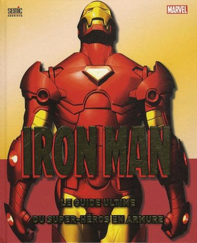 Couverture iron man ; ultimate guide