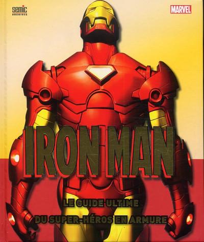 Couverture Iron Man, le guide ultimate (édition 2013)