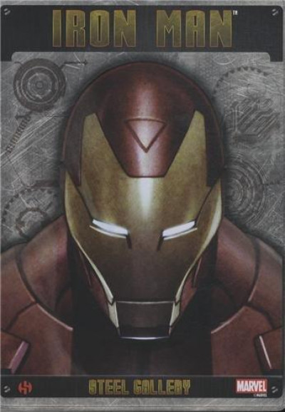 Couverture Iron Man - portfolio collector