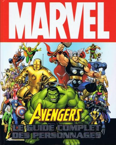 Couverture Avengers ; le guide complet des personnages