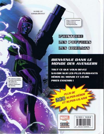 Dos Avengers ; le guide complet des personnages