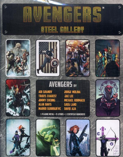 Page 1 Avengers - portfolio collector